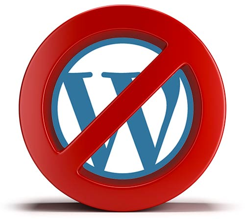 Pas de wordpress :p