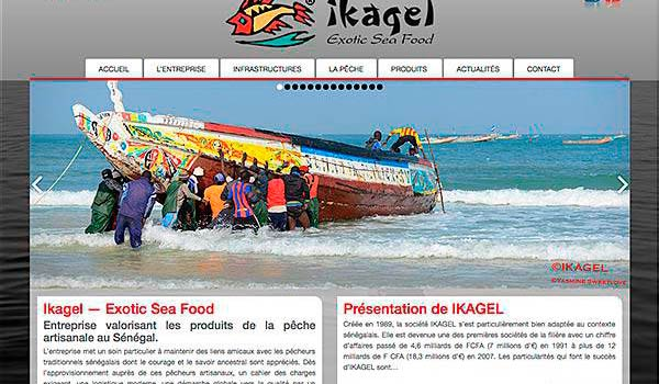 Ikagel - Exotic Sea Food