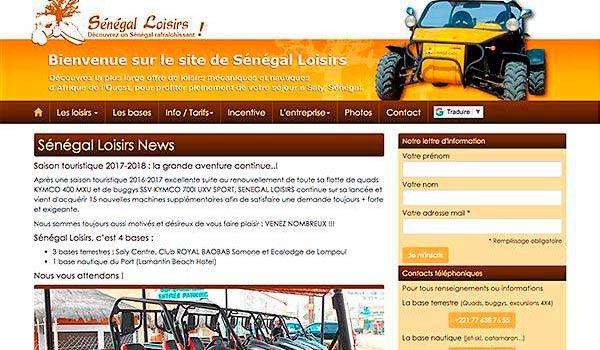 Sénégal Loisirs